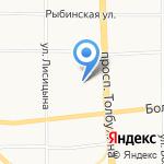 Центральная городская библиотека им. М.Ю. Лермонтова на карте Ярославля