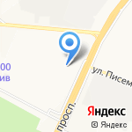 Дока на карте Ярославля