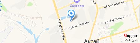 Лесовик на карте Аксая