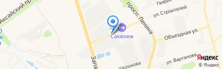 М4 на карте Аксая