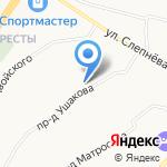 Трио на карте Ярославля