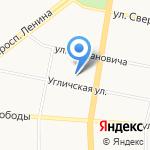Аэродизайн на карте Ярославля