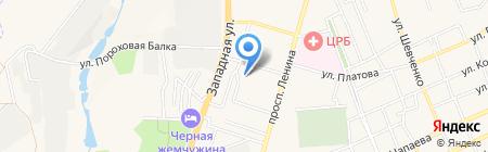 Детский сад №11 Красная шапочка на карте Аксая