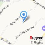 Комплексный центр социального обслуживания населения Фрунзенского района на карте Ярославля