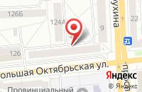 Схема проезда до компании ЯРВЕБДИЗАЙН в Ярославле