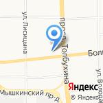 Совкомбанк на карте Ярославля