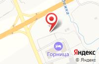 Схема проезда до компании Горница в Семёнково
