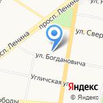 Военно-мемориальная компания на карте Ярославля