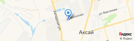 ЛедАкс на карте Аксая