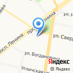 Уют на карте Ярославля