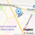 Лори на карте Ярославля