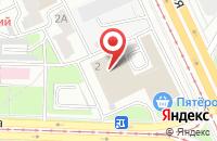 Схема проезда до компании Простор Телеком в Ярославле