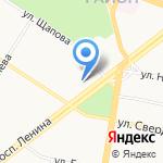 Арбитражный суд Ярославской области на карте Ярославля
