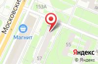Схема проезда до компании Чинар в Ярославле