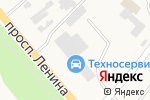 Схема проезда до компании Партнер в Аксае