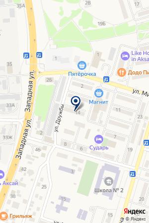 СТО ДОНАВТОСЕРВИС на карте Сальска