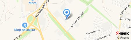 Мистраль на карте Аксая