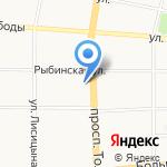 ЛеМуррр на карте Ярославля