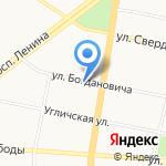 Forever на карте Ярославля