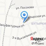 Лавинье на карте Ярославля