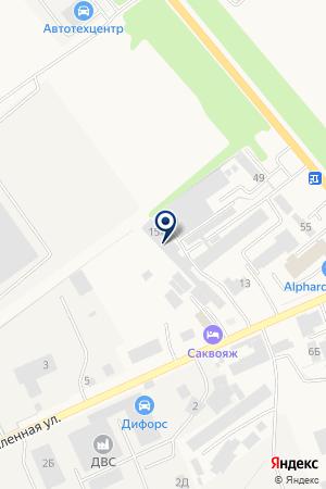 Автотехцентр на карте Аксая