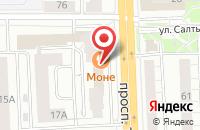 Схема проезда до компании Prego в Ярославле
