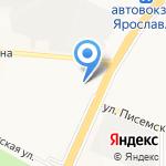 Мировые судьи Красноперекопского района на карте Ярославля