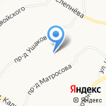 Теремок на карте Ярославля