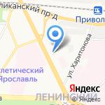 Атлант на карте Ярославля