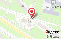 Схема проезда до компании Звездная ночь в Ярославле