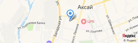 Магнит на карте Аксая