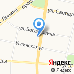 ЯрСтройЛес на карте Ярославля
