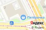Схема проезда до компании Легион в Ярославле