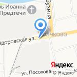 Пролетарка на карте Ярославля