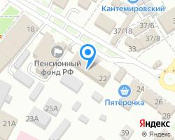 Схема местоположения почтового отделения 396726