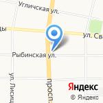 ЦЕНТР ЛИЦЕНЗИРОВАНИЯ И СЕРТИФИКАЦИИ на карте Ярославля