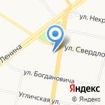 Эко-Спорт на карте Ярославля