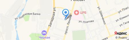 Сервис-Окна на карте Аксая