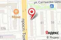 Схема проезда до компании Центр развития гитарного искусства в Ярославле