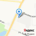 ТИИР на карте Ярославля