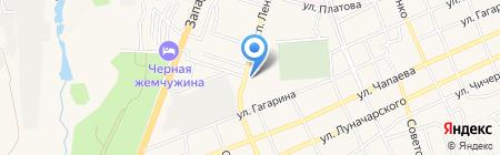 Продуктовый магазин на проспекте Ленина на карте Аксая