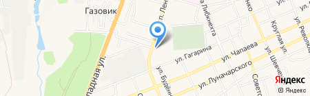 Персона Фитнес на карте Аксая