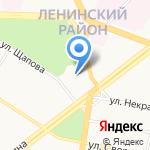 Дворец культуры им. А.М. Добрынина на карте Ярославля