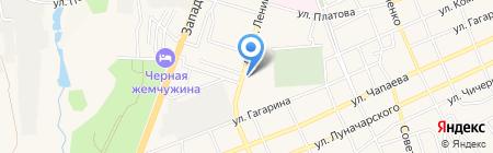 Мой город на карте Аксая