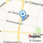 LORENA кухни на карте Ярославля