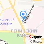 Вардек на карте Ярославля