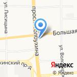 Белый Город на карте Ярославля