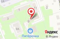 Схема проезда до компании Красная звезда в Семёнково