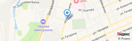 Камыши на карте Аксая