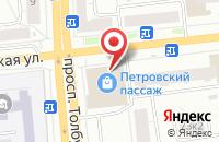 Схема проезда до компании Ярнео в Ярославле